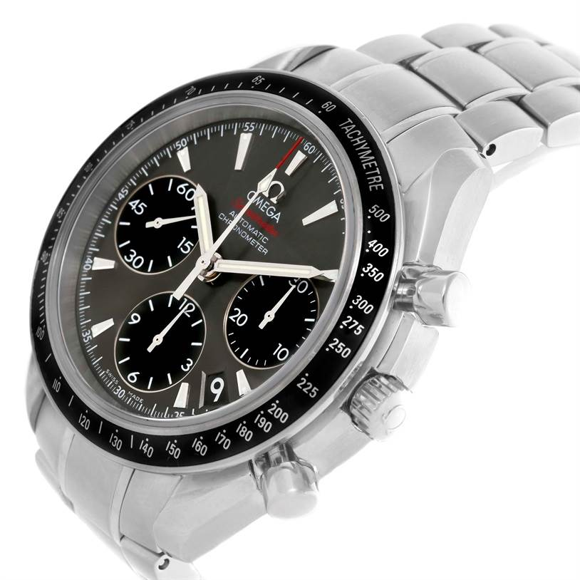10293 Omega Speedmaster Date Mens Automatic Watch 323.30.40.40.06.001 SwissWatchExpo