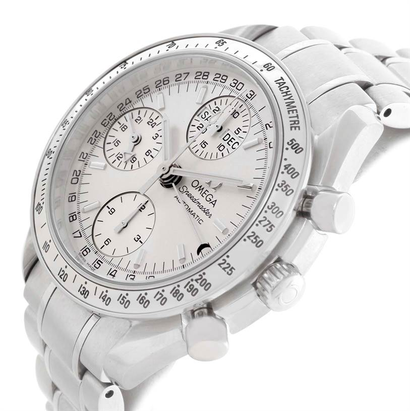 11184 Omega Speedmaster Chronograph Day Date Watch 3523.30.00 Box Papers SwissWatchExpo