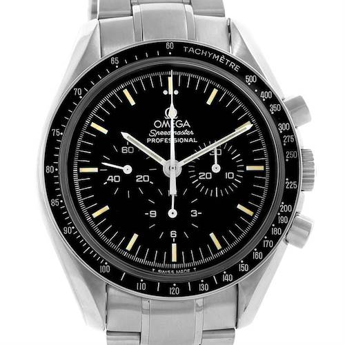 Photo of Omega Speedmaster Stainless Steel Mens Moon Watch Caliber 861