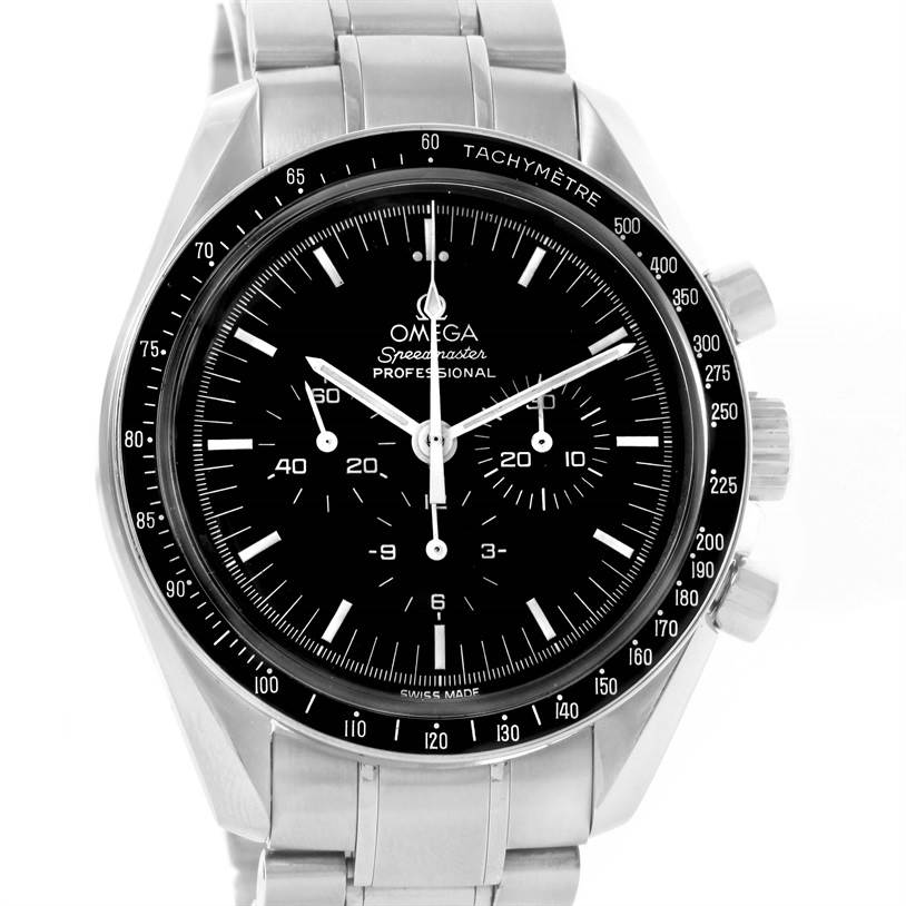 12087 Omega Speedmaster Professional Chronograph Moon Watch 3570.50.00 SwissWatchExpo