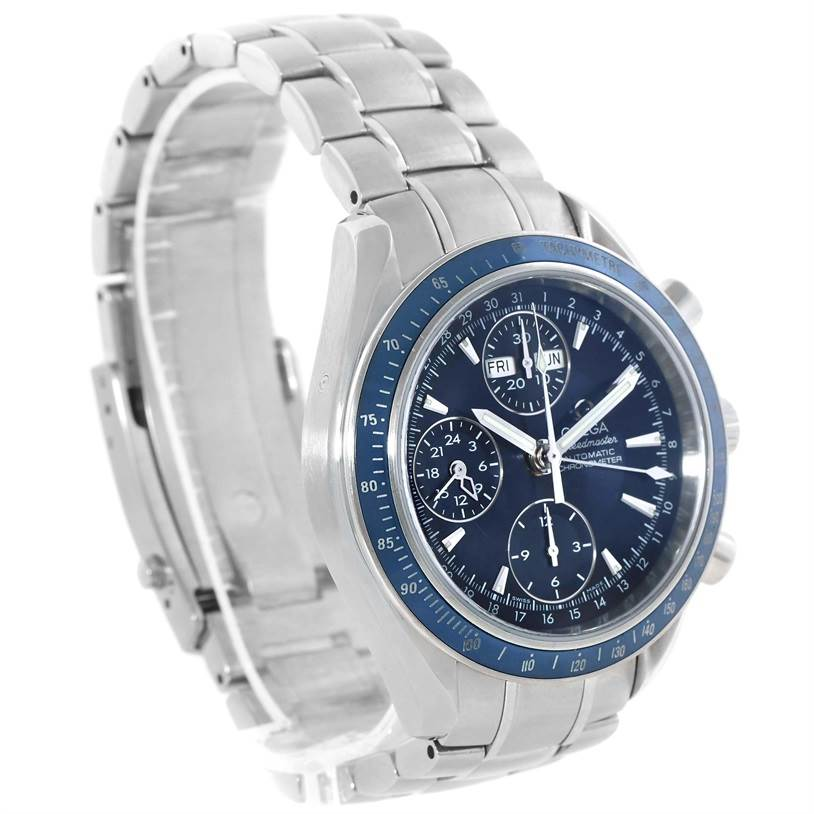 13310 Omega Speedmaster Day Date Chronograph Watch 3222.80.00 Box Papers SwissWatchExpo