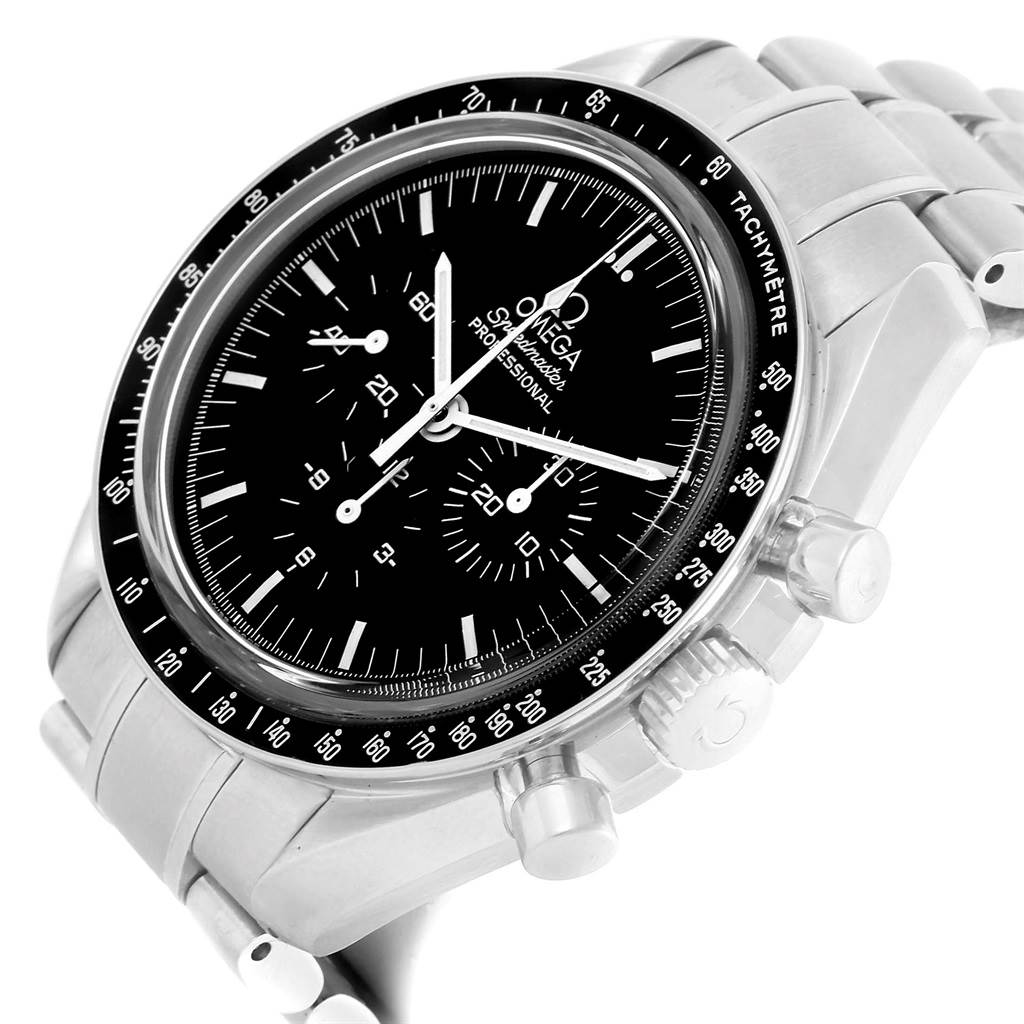 13403 Omega Speedmaster Professional Moon Sapphire Sandwich Watch 3573.50.00 SwissWatchExpo