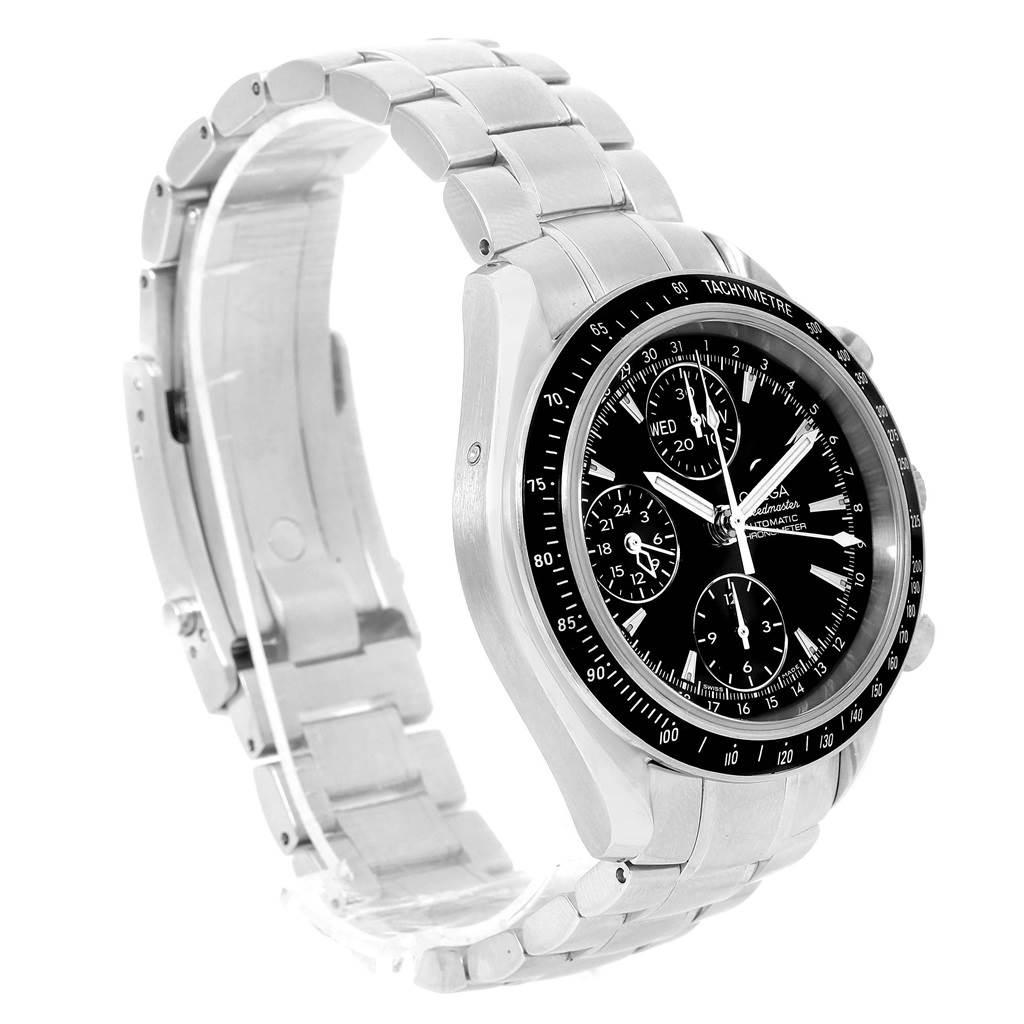 13426 Omega Speedmaster Day Date 40mm Chronograph Mens Watch 3220.50.00 SwissWatchExpo
