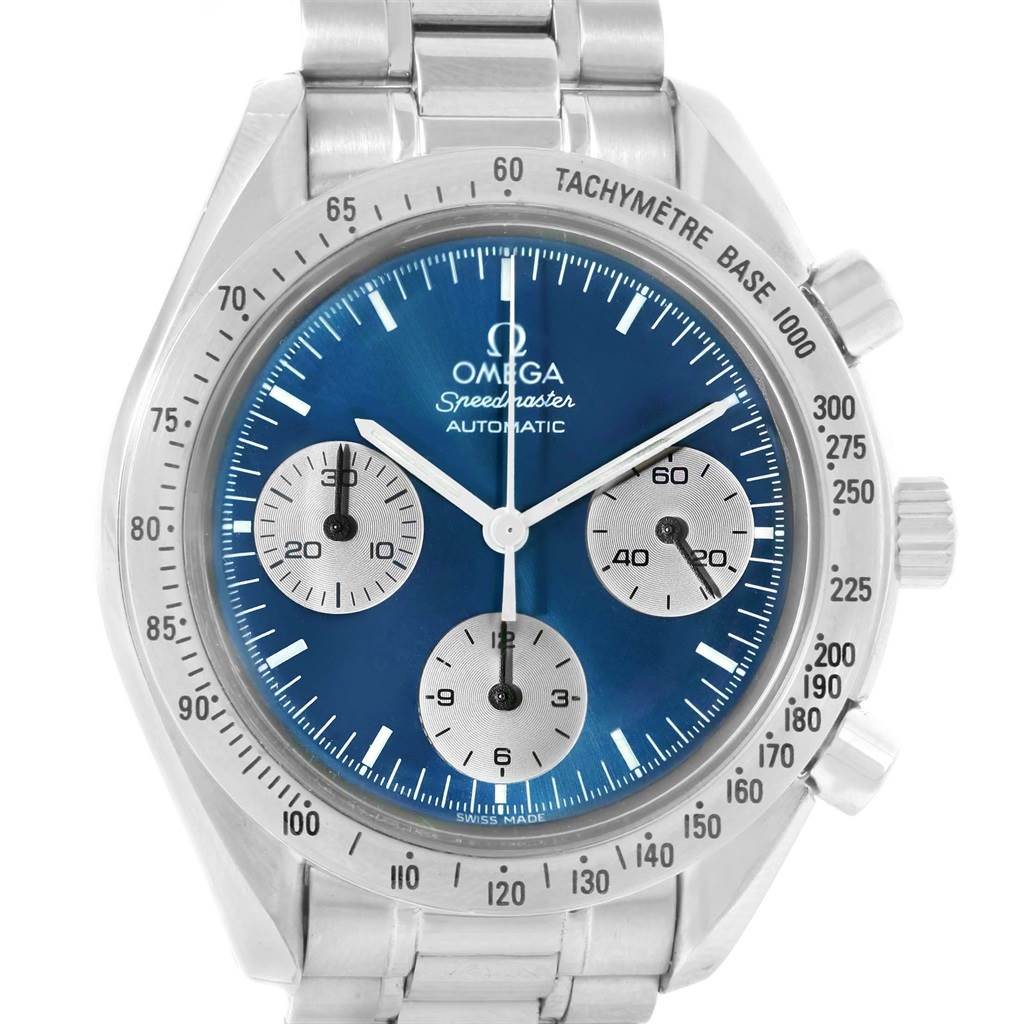 14311 Omega Speedmaster Reduced Limeted Edition Automatic Watch 3510.82.00 SwissWatchExpo