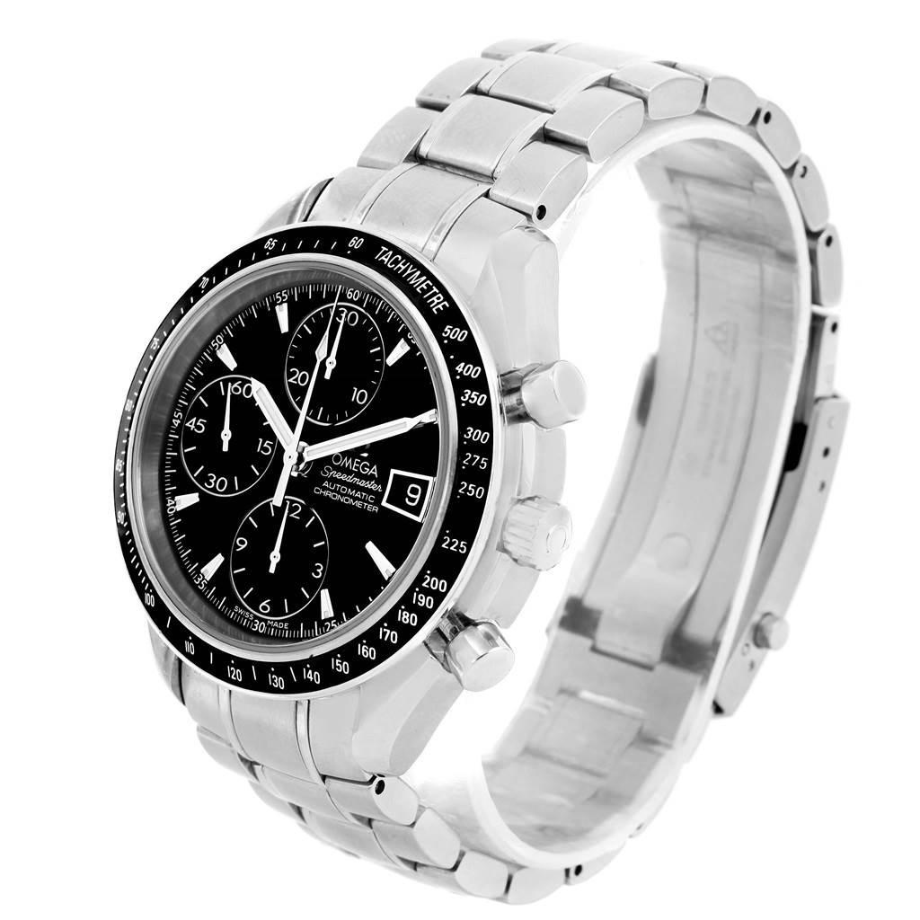 omega speedmaster chronograph black dial mens watch 3210. Black Bedroom Furniture Sets. Home Design Ideas