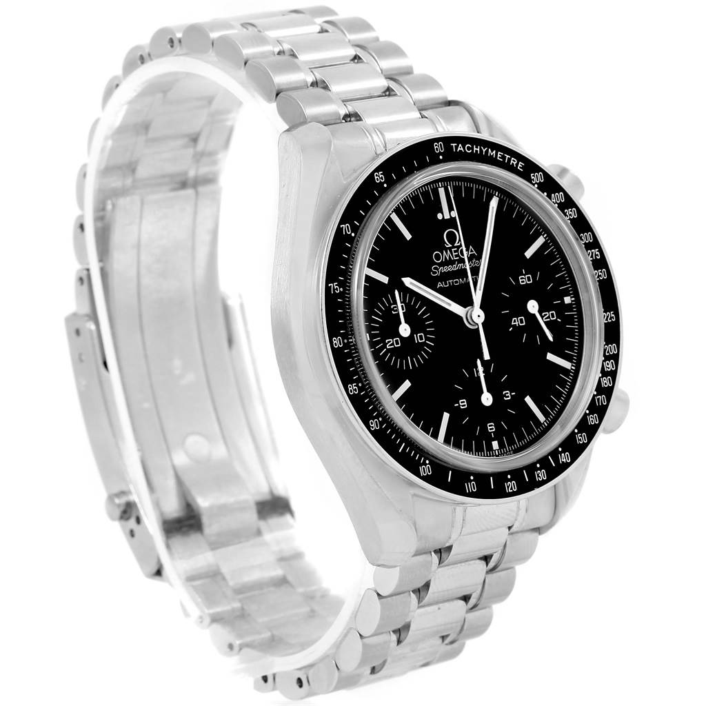 omega speedmaster chrono reduced automatic mens watch 3539. Black Bedroom Furniture Sets. Home Design Ideas