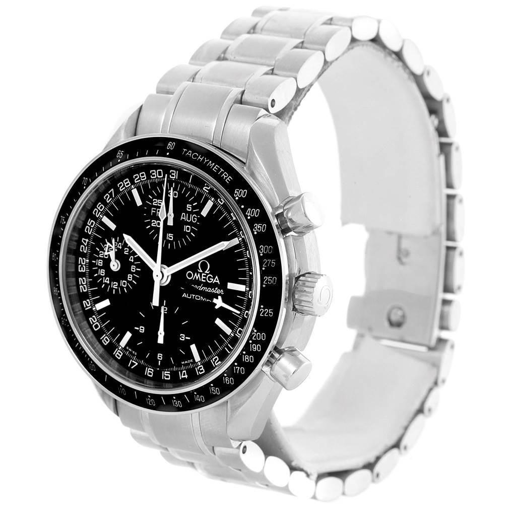 omega speedmaster day date black dial chronograph mens. Black Bedroom Furniture Sets. Home Design Ideas