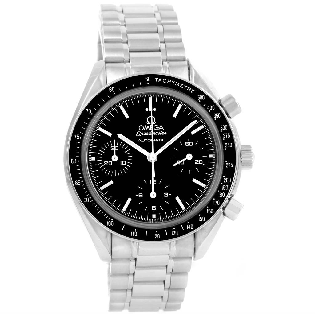 omega speedmaster chronograph 39mm automatic mens watch. Black Bedroom Furniture Sets. Home Design Ideas