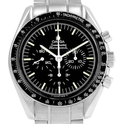 Photo of Omega Speedmaster Vintage Chronograph Steel Moon Watch Caliber 861