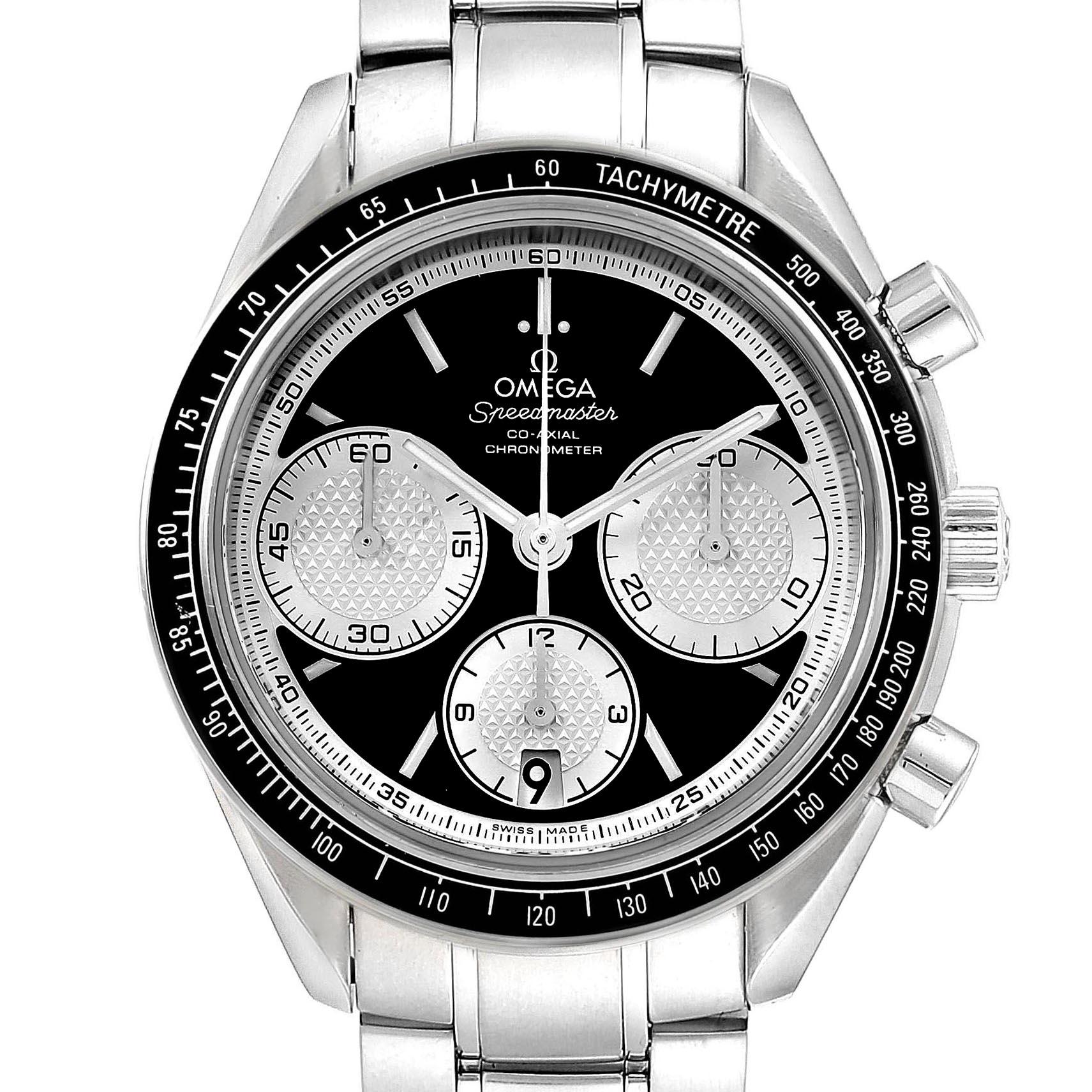 Omega Speedmaster Racing Inverted Panda Dial Watch 326.30.40.50.01.002