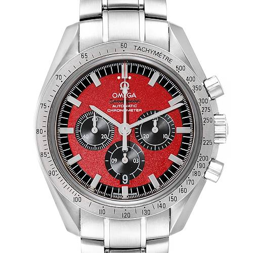 Photo of Omega Speedmaster Schumacher Legend Red Limited Edition Watch 3506.61.00