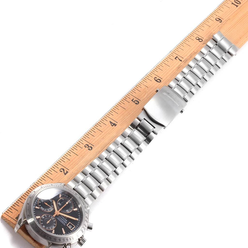 18208 Omega Speedmaster Date Black Dial Special Edition Mens Watch 3211.50.00 SwissWatchExpo
