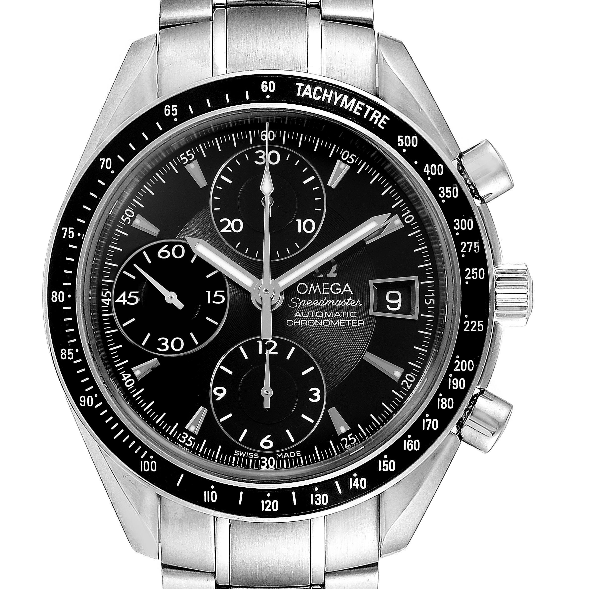 Omega Speedmaster Chronograph Steel Mens Watch 3210.50.00
