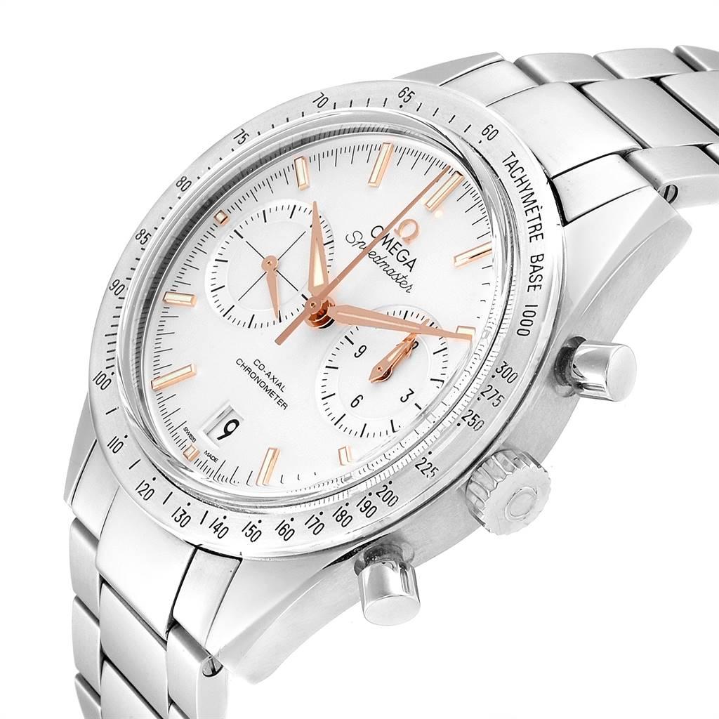 Omega Speedmaster Chronograph Watch 331.10.42.51.02.002 Box Card SwissWatchExpo