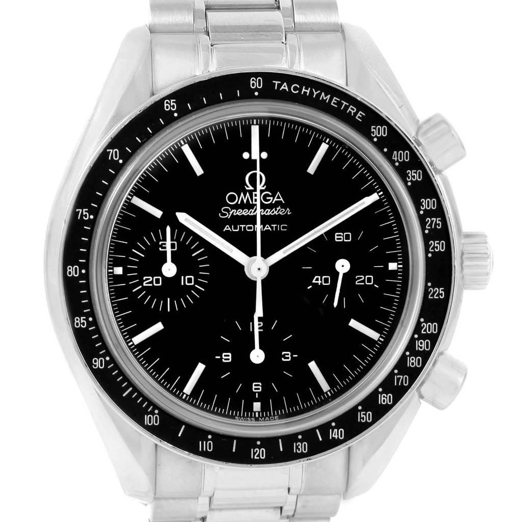 19652 Omega Speedmaster Chronograph Reduced Automatic Watch 3539.50.00 SwissWatchExpo