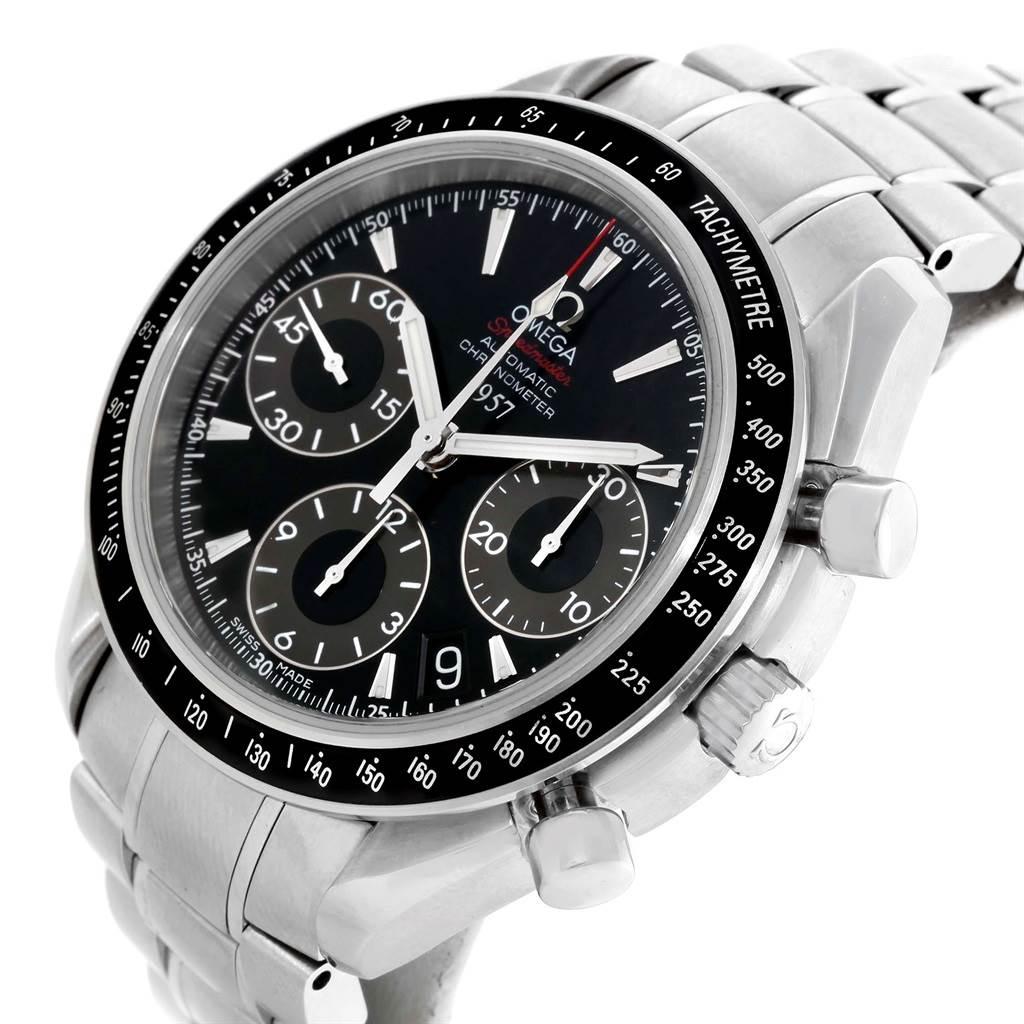 20404 Omega Speedmaster Date LE Mens Watch 323.30.40.40.01.001 Box Card SwissWatchExpo