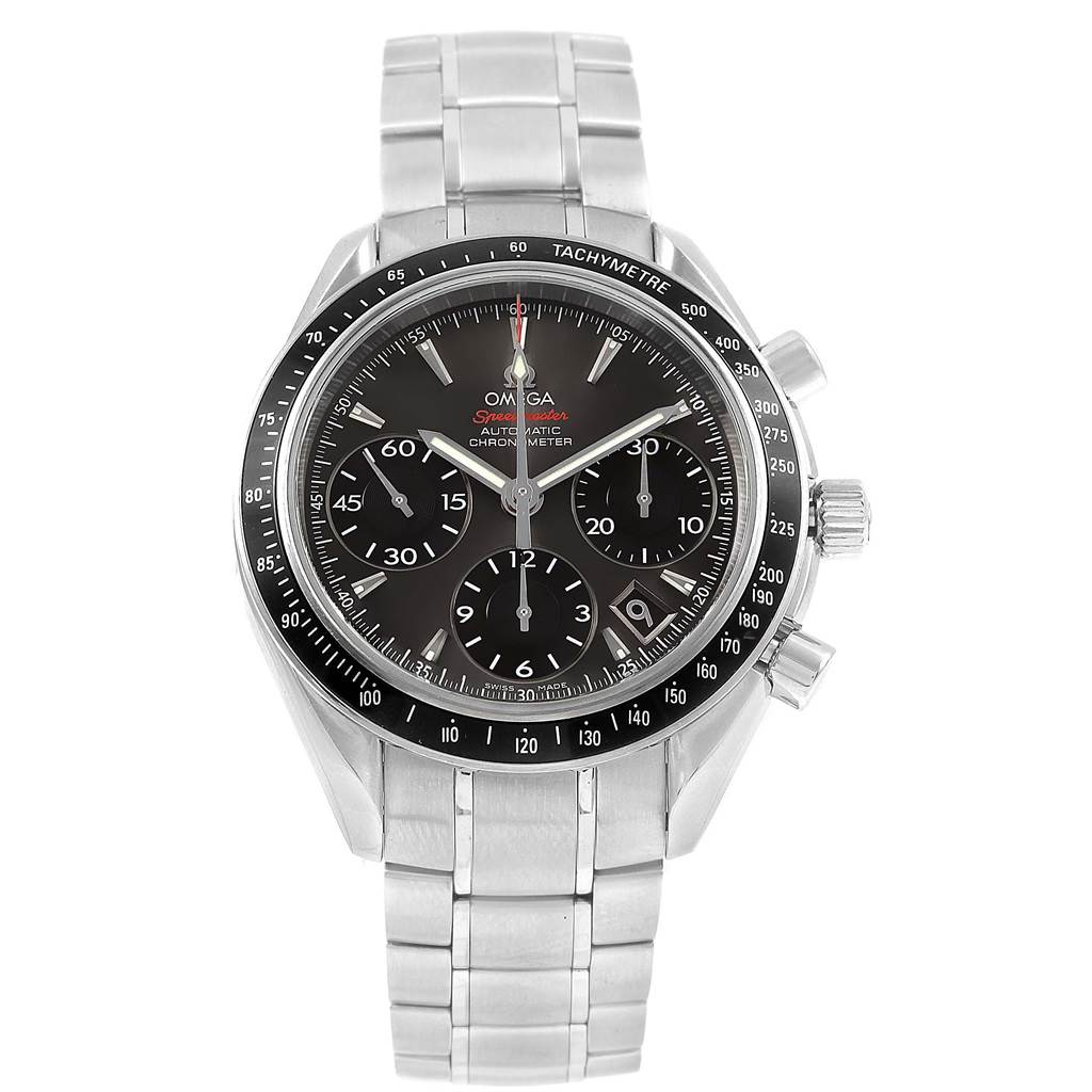 20709X Omega Speedmaster Day Date Automatic Watch 323.30.40.40.06.001 Box Card SwissWatchExpo