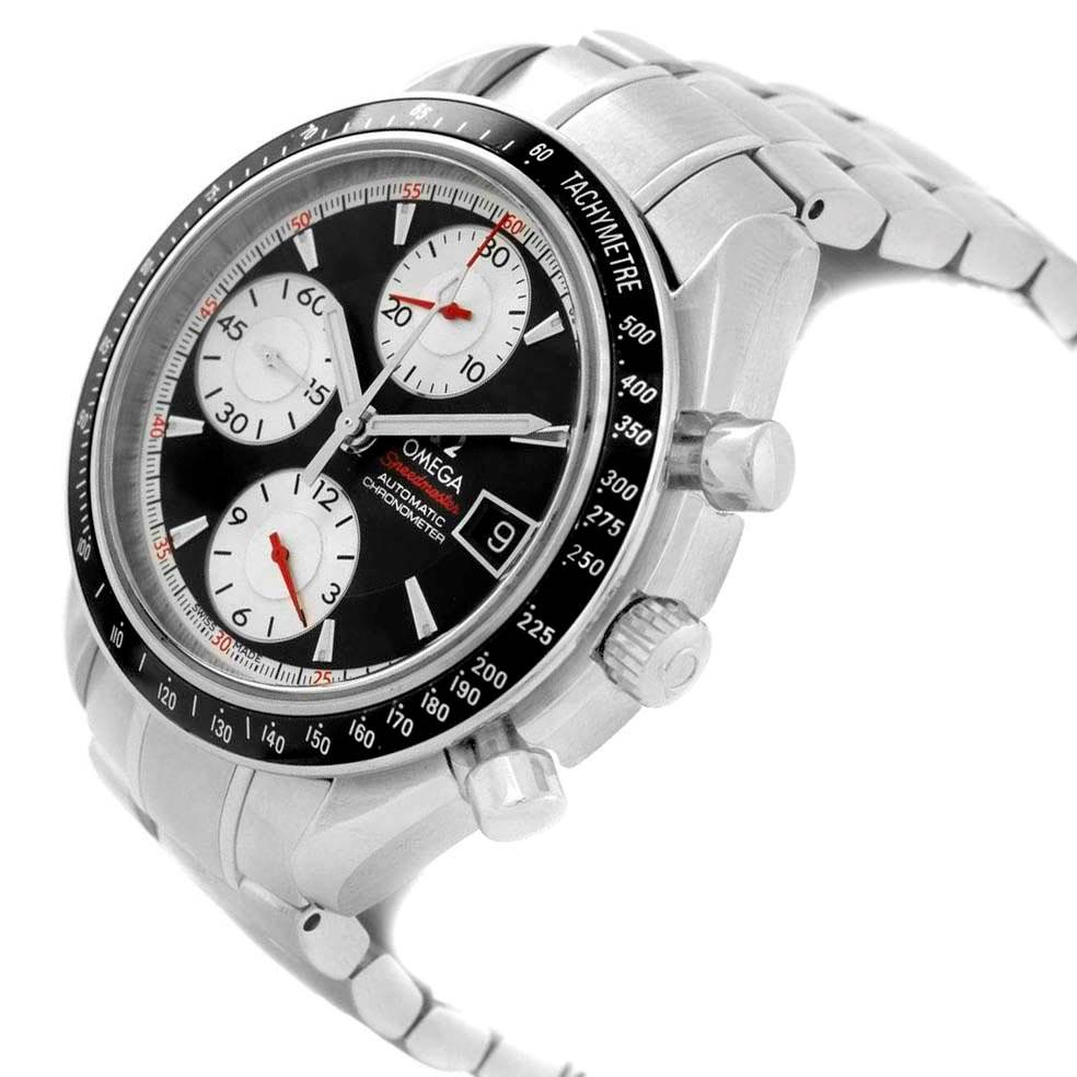 14273X Omega Speedmaster Date 40mm Black Dial Mens Watch 3210.51.00 SwissWatchExpo