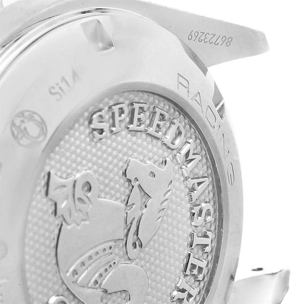 21004 Omega Speedmaster Racing Mens Watch 326.30.40.50.01.001 Box Papers SwissWatchExpo