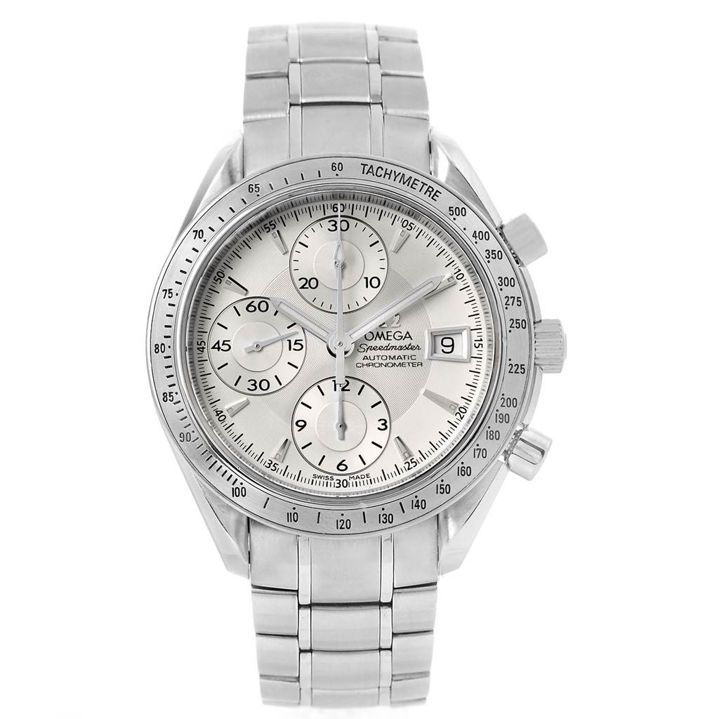 1654X Omega Speedmaster Chronograph Automatic Steel Mens Watch 3211.30.00 SwissWatchExpo