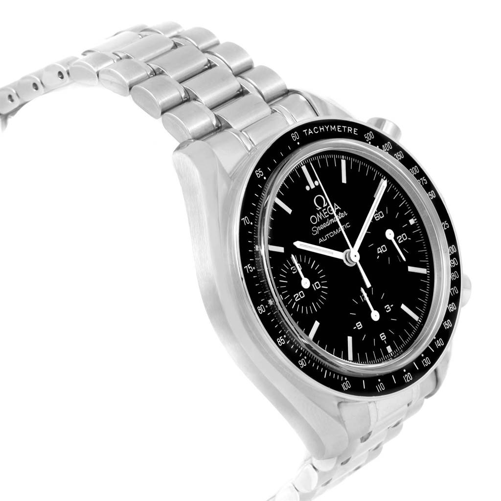 12125 Omega Speedmaster Reduced 39mm Automatic Steel Mens Watch 3510.50.00 SwissWatchExpo