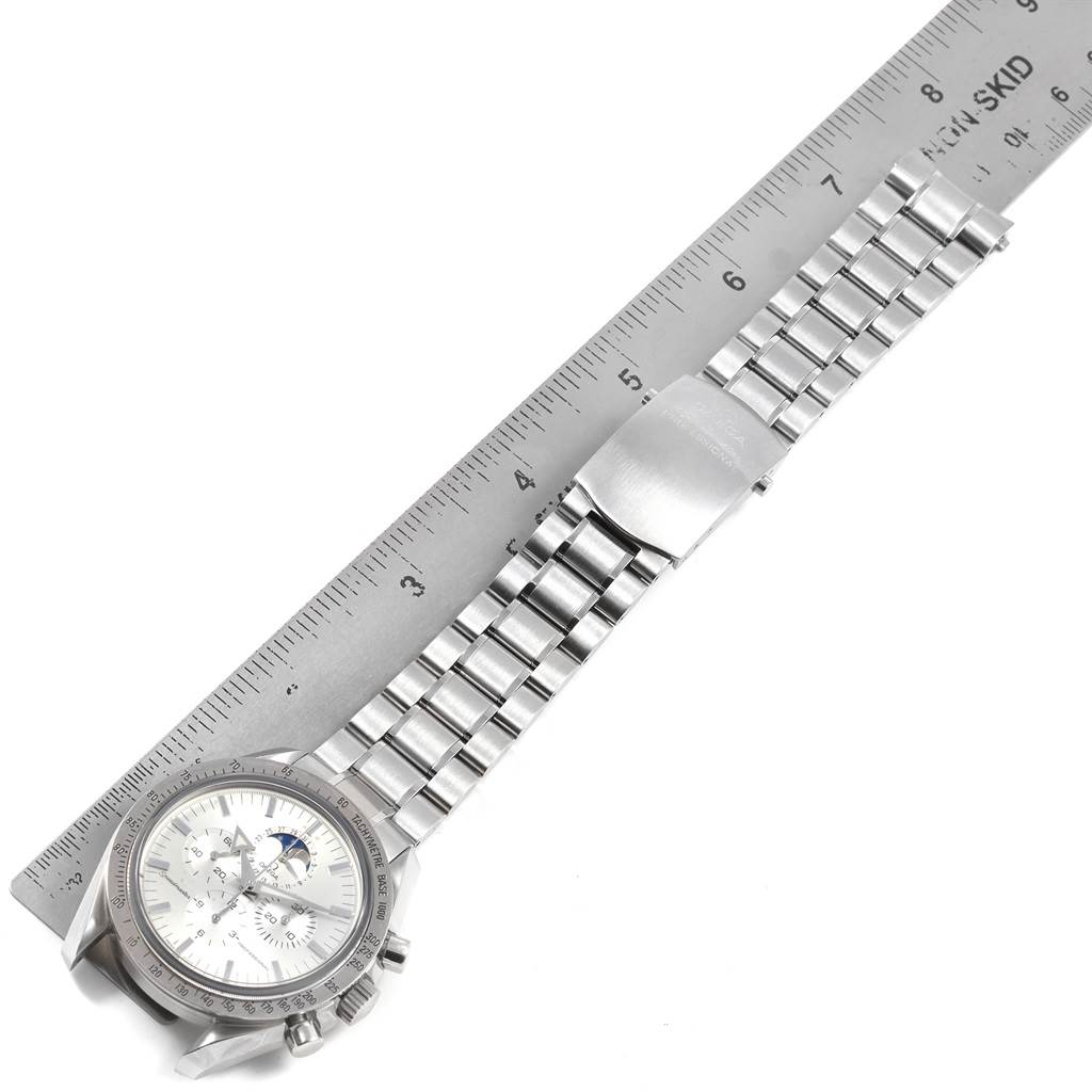 21078 Omega Speedmaster MoonPhase Broad Arrow Mens Watch 3575.30.00 SwissWatchExpo