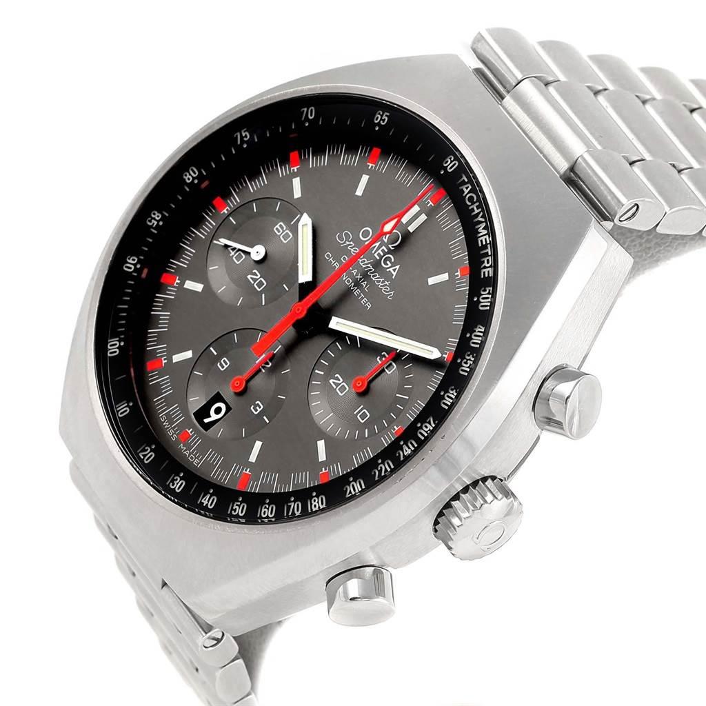 21322 Omega Speedmaster Mark II Chrono Watch 327.10.43.50.06.001 Unworn SwissWatchExpo