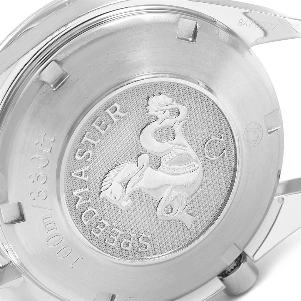 19444 Omega Speedmaster Chronograph Steel Mens Watch 3211.30.00 Box Card SwissWatchExpo