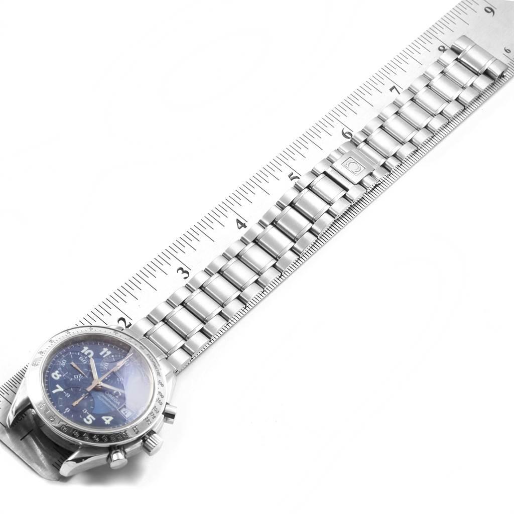 19708 Omega Speedmaster Date 39mm Chronograph Mens Watch 3513.82.00 SwissWatchExpo