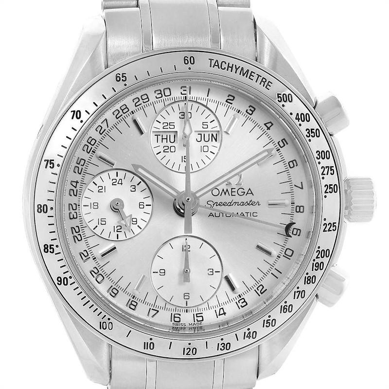 Omega Speedmaster Day Date Chronograph Mens Watch 3523.30.00 Card SwissWatchExpo