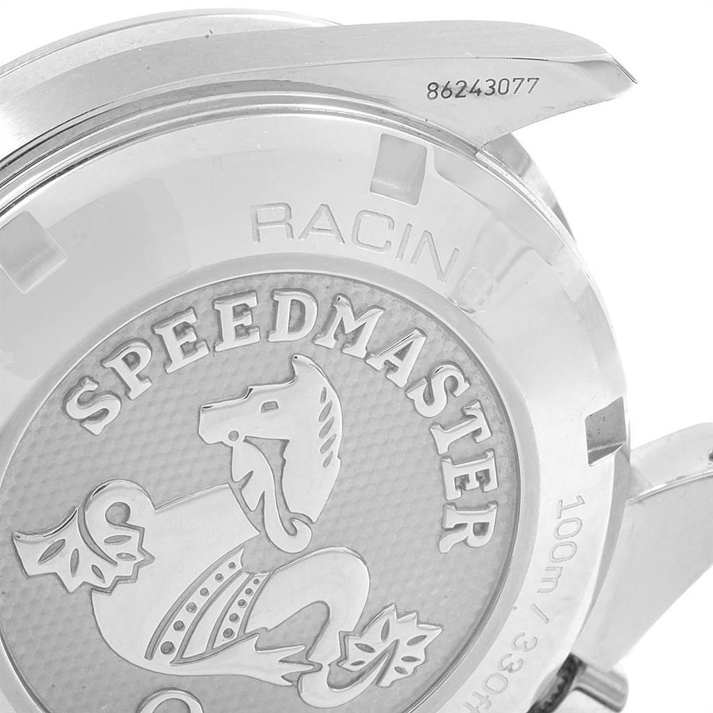 21535 Omega Speedmaster Racing Mens Watch 326.30.40.50.03.001 Card SwissWatchExpo