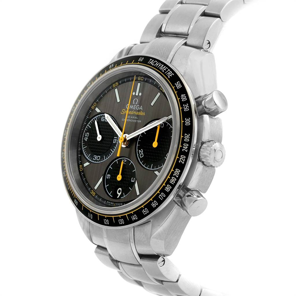 22133 Omega Speedmaster Racing Co-Axial Watch 326.30.40.50.06.001 Box Card SwissWatchExpo