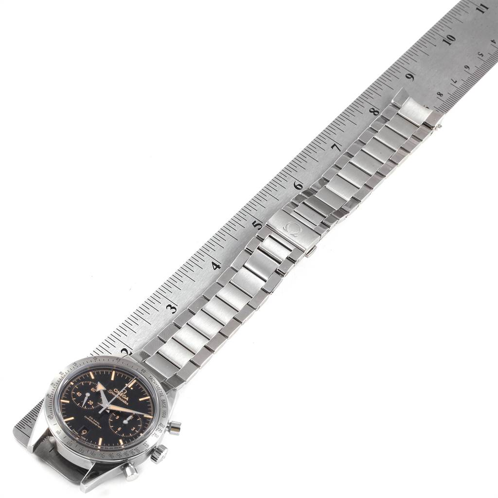 Omega Speedmaster 57 Broad Arrow Mens Watch 331.10.42.51.01.002 Box Card SwissWatchExpo