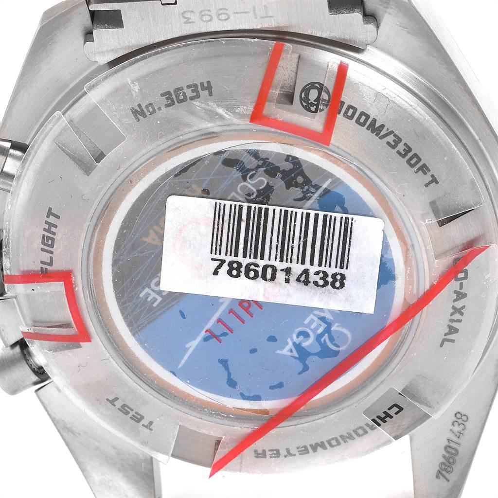 Omega Speedmaster HB-SIA GMT Titanium Watch 321.90.44.52.01.001 Unworn SwissWatchExpo