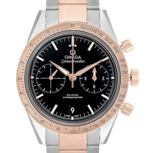 Photo of Omega Speedmaster 57 Steel Rose Gold Mens Watch 331.20.42.51.01.002