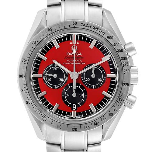Photo of Omega Speedmaster Schumacher Legend Red Limited Edition Watch 3506.61.00