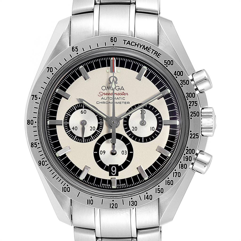 Omega Speedmaster Schumacher Legend Steel Mens Watch 3506.31.00 SwissWatchExpo