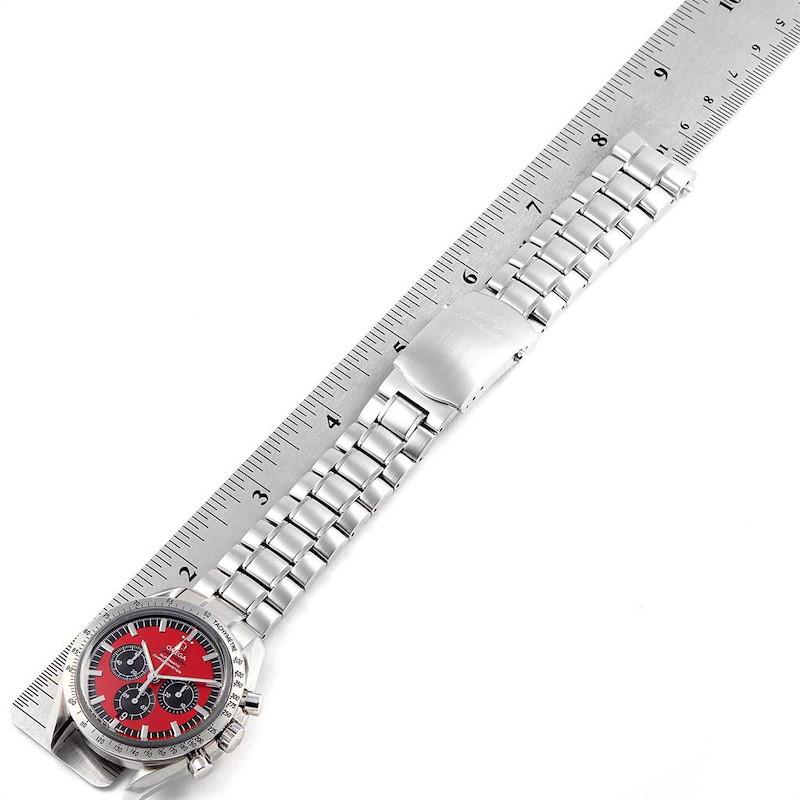Omega Speedmaster Schumacher Legend Red Limited Edition Watch 3506.61.00 SwissWatchExpo