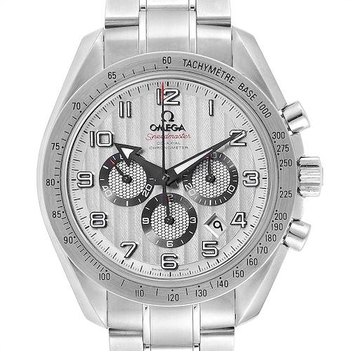 Photo of Omega Speedmaster Broad Arrow Silver Dial 321.10.44.50.02.001 Card