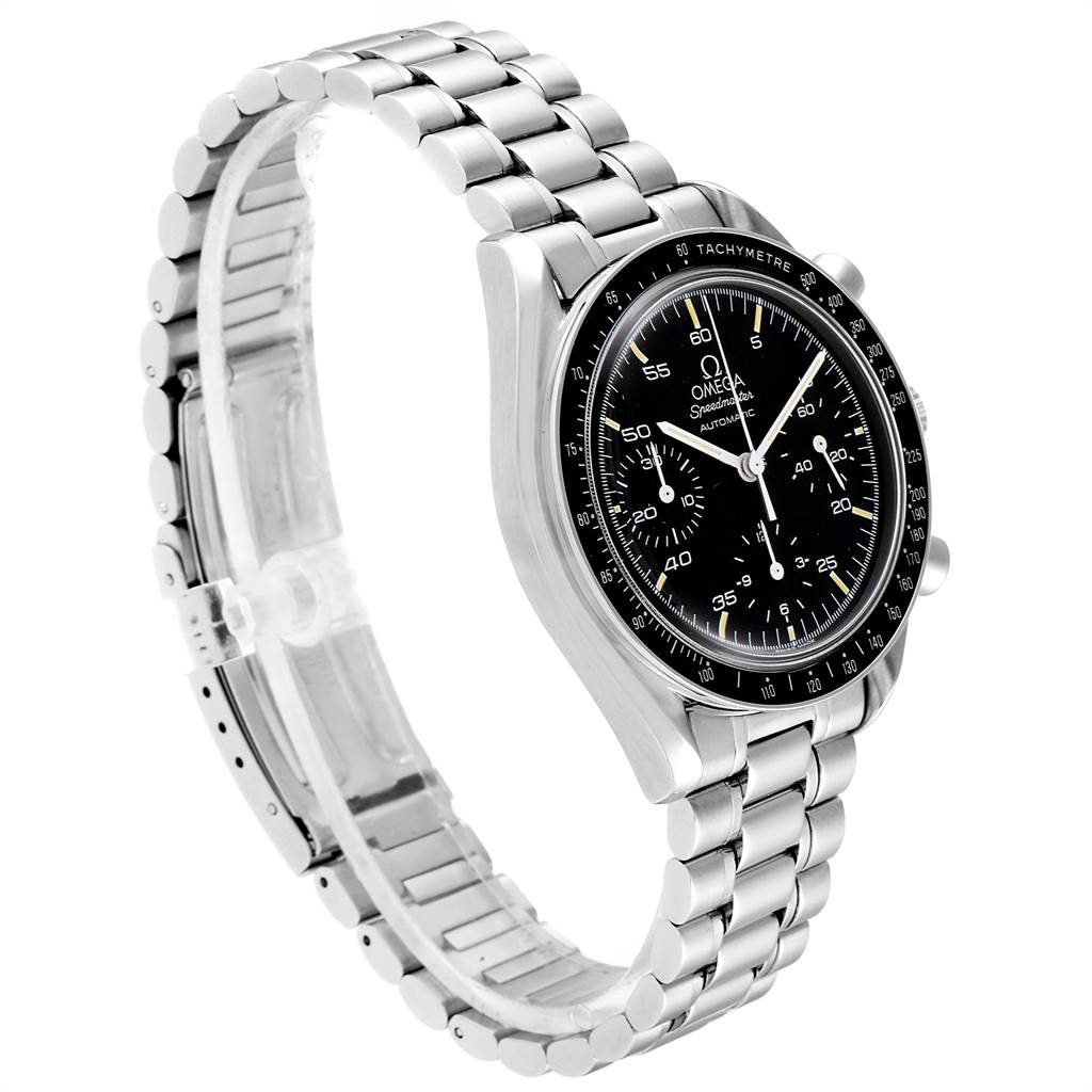 Omega Speedmaster Reduced Automatic Mens Watch 3510.50.00 Card SwissWatchExpo