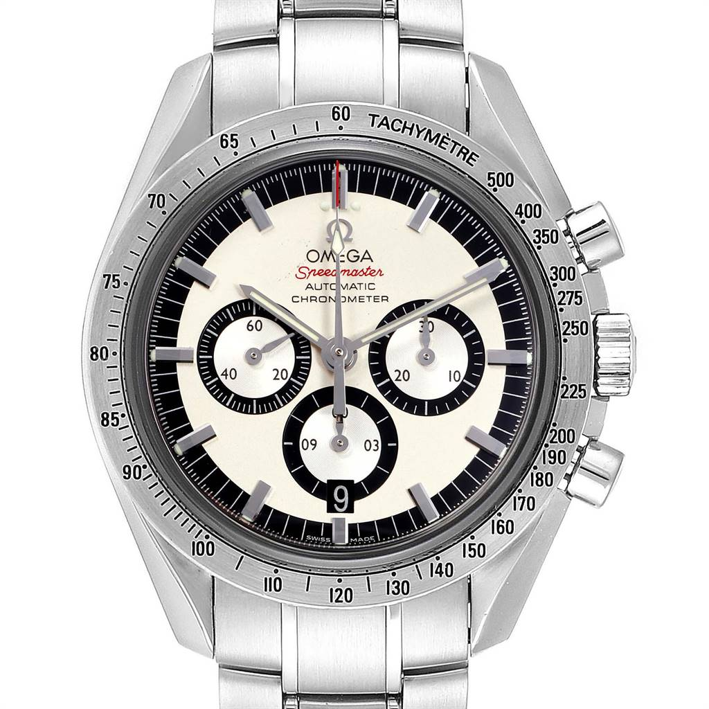 Omega Speedmaster Schumacher Legend Chronograph Mens Watch 3506.31.00 SwissWatchExpo