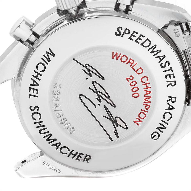 Omega Speedmaster Schumacher Racing Limited Edition Watch 3517.30.00 Card SwissWatchExpo