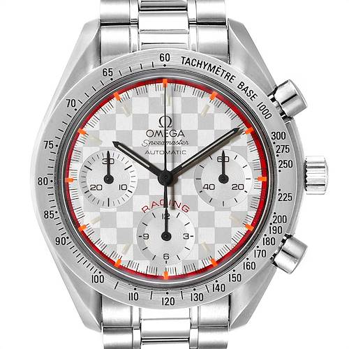 Photo of Omega Speedmaster Schumacher Racing Limited Edition Watch 3517.30.00 Card