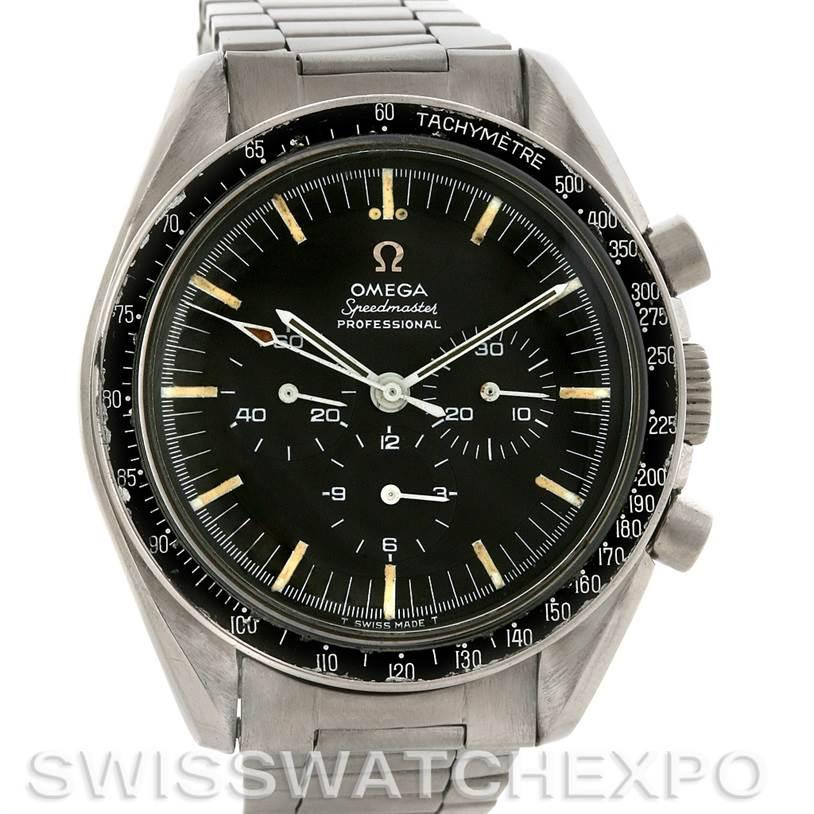 3083 Vintage Omega Speedmaster Steel Watch 321 Year 1967 SwissWatchExpo