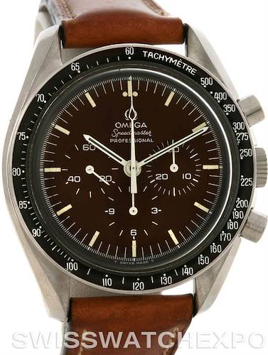 Photo of Omega Moon Speedmaster Professional Vintage Watch 861 Chocolate Dial