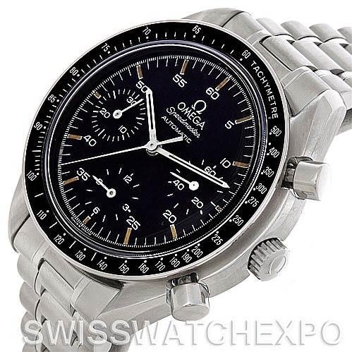 4704 Mens Omega Speedmaster Reduced Automatic 3510.50.00 SwissWatchExpo