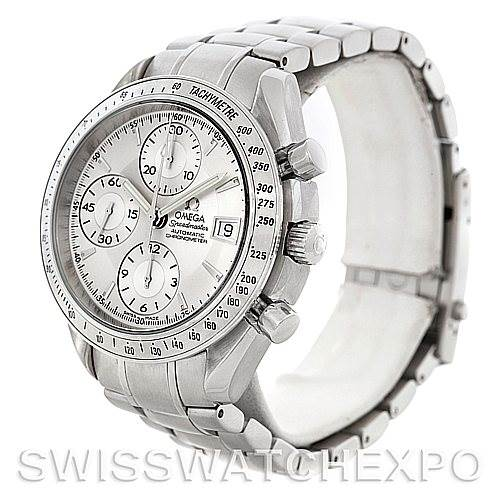 5480 Mens Omega Speedmaster Automatic Date Watch 3211.30.00 SwissWatchExpo
