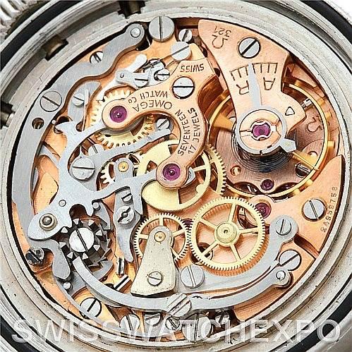 5455 Vintage Omega Premoon 321 Speedmaster Straight Lugs Watch 105.003-65 SwissWatchExpo