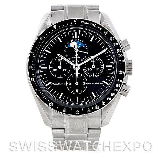 5682 Omega Speedmaster Professional Moon Mens Watch 3576.50.00 SwissWatchExpo