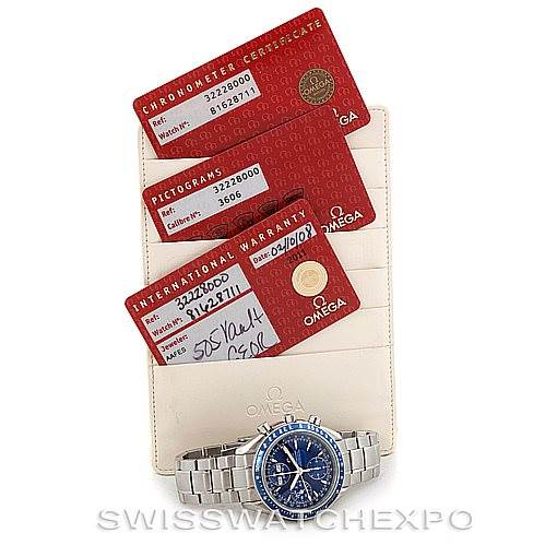 6650 Mens Omega Speedmaster Automatic Date Watch 3222.80.00 SwissWatchExpo
